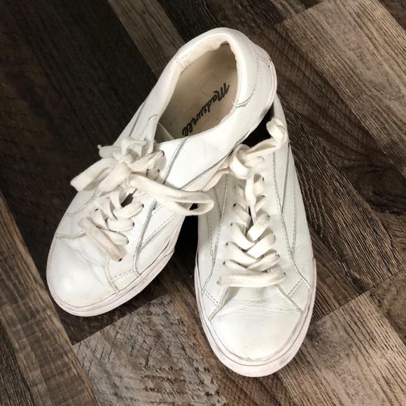 Madewell Shoes | White Sneakers | Poshmark